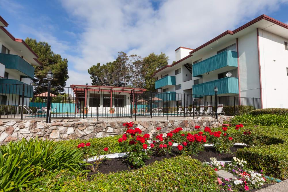 Exterior of Del Coronado Apartments in Alameda, California