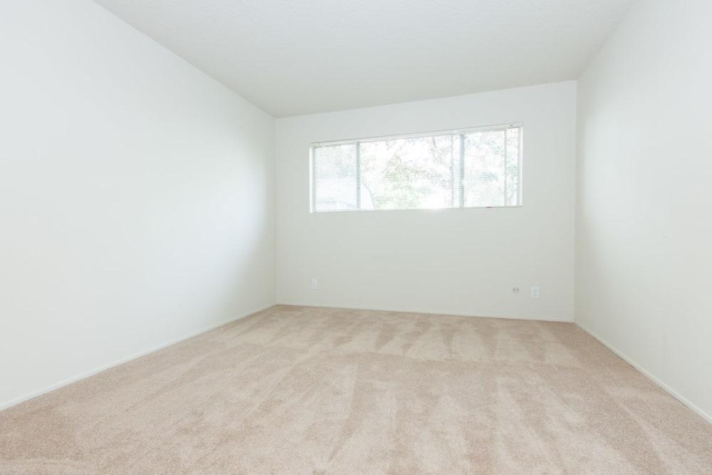 Spacious bedroom at Del Coronado Apartments in Alameda, California