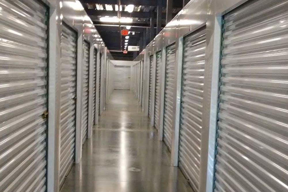 Variety of units at Spacebox Storage in Fort Myers, Florida.