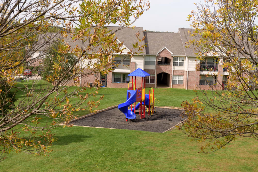 Playground at Cascade Falls Apartments in Akron, Ohio