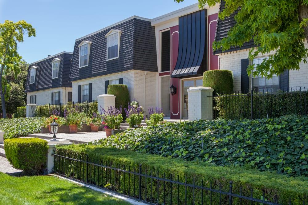 Exterior of Normandy Park Apartments in Santa Clara, California