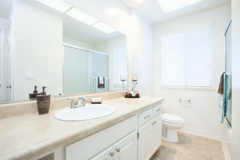 Bathroom at Vista Pointe Apartments in Santa Clara, California