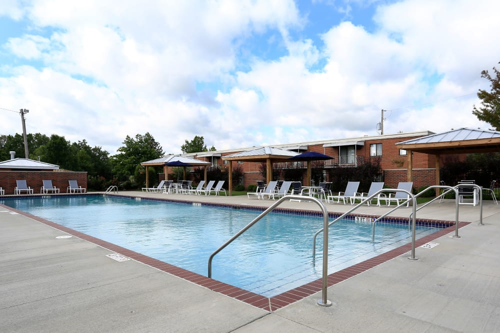 A second resident swimming pool at Colony Club in Bedford, Ohio.