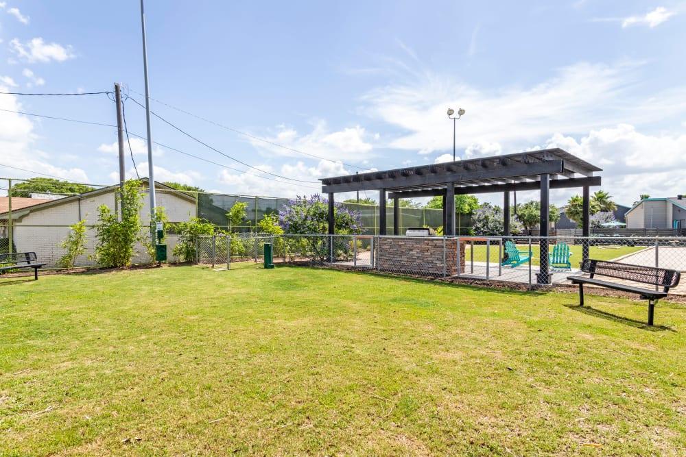 EnVue Apartments offers a Spacious Walking Paths in Bryan, Texas