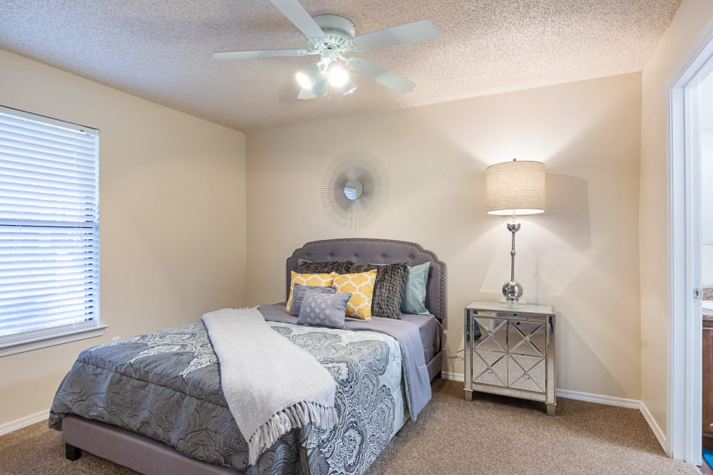 Master bedroom at The Retreat at Chenal in Little Rock, Arkansas