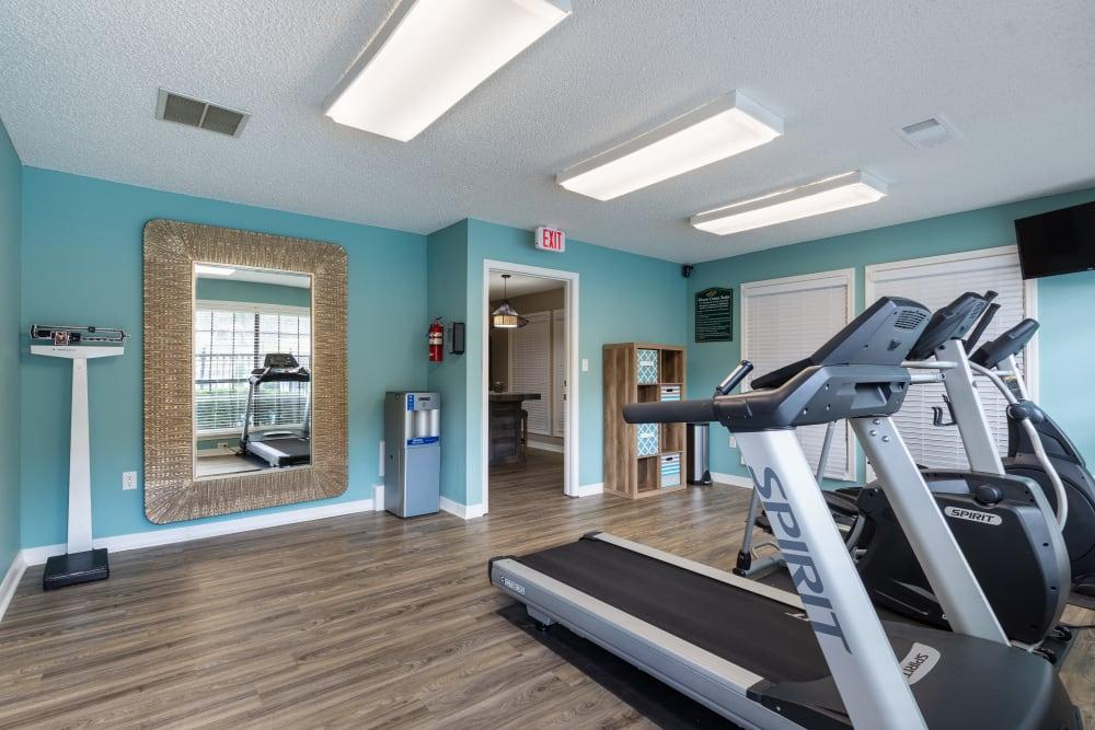 Fitness center at Arkansas in Little Rock, Arkansas