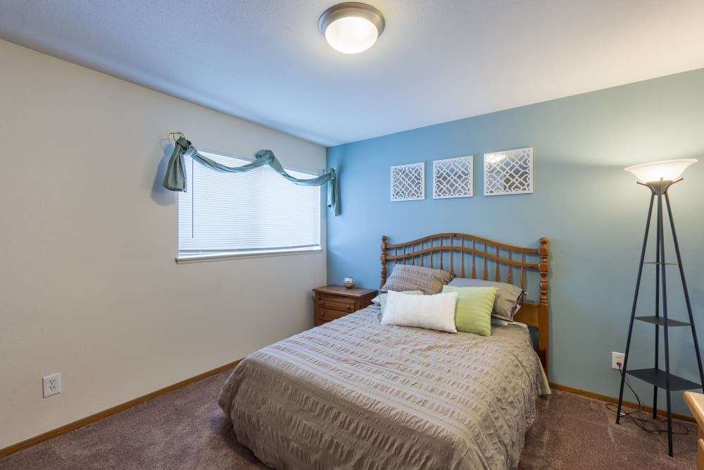 Extra bedroom at Kellogg Cove Apartments in Kentwood, Michigan