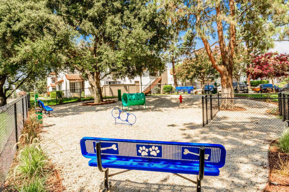 Dog park at Sonora at Alta Loma in Alta Loma, California