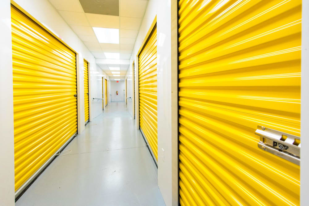 Storage units at Convenient Self Storage in Little Rock, Arkansas