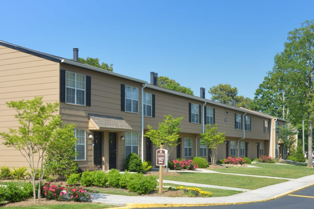 Exterior of The Hills at Oakwood in Chattanooga, Tennessee
