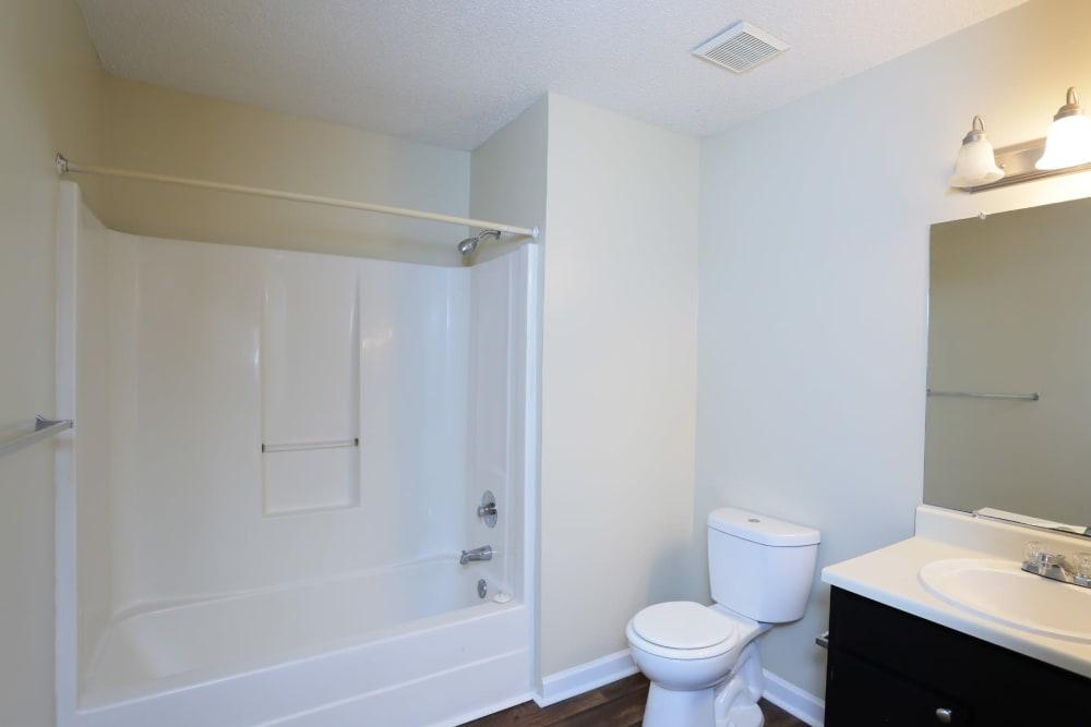 Bathroom layout at Madison Pines in Madison, Alabama