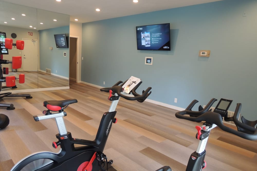 Newly Renovated Fitness-On-Demand Room
