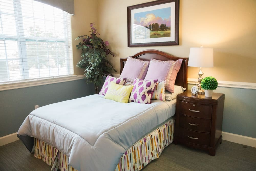A bedroom at The Pearl at Fort Mill in Fort Mill, South Carolina