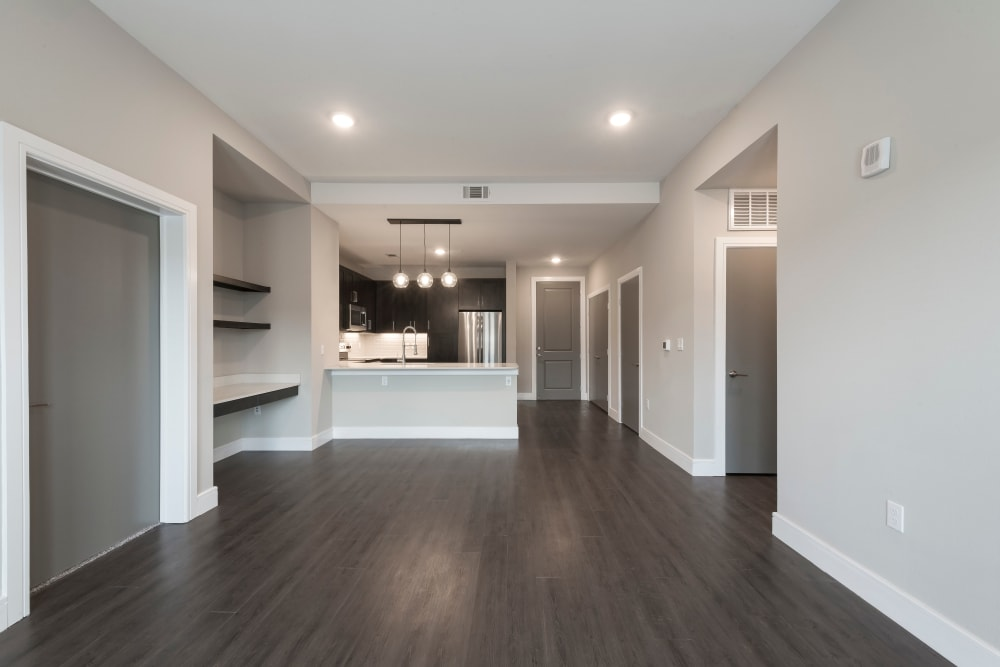 Spacious floor plans at Canal1535 in New Orleans, Louisiana.