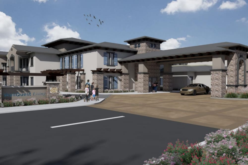 Rendering of WellQuest of Granite Bay in Granite Bay, California