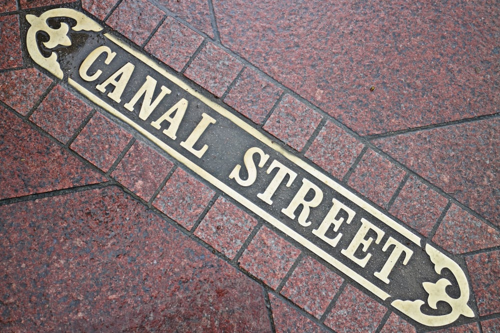 Canal1535 is located near Canal Street in New Orleans, Louisiana.