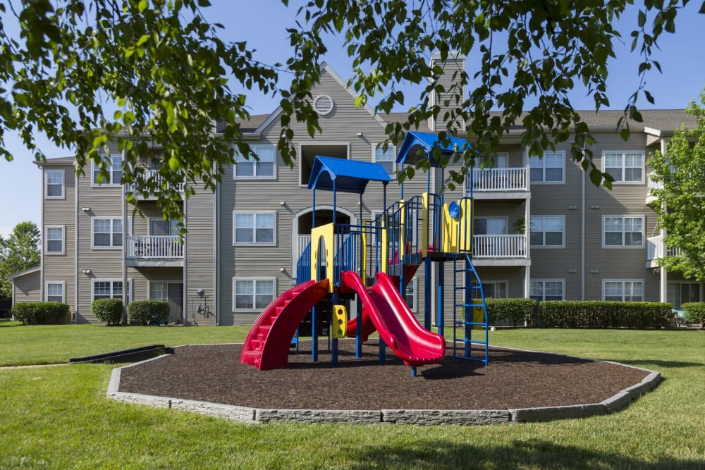 Playground at The Reserve at Ballenger Creek Apartments in Frederick, Maryland