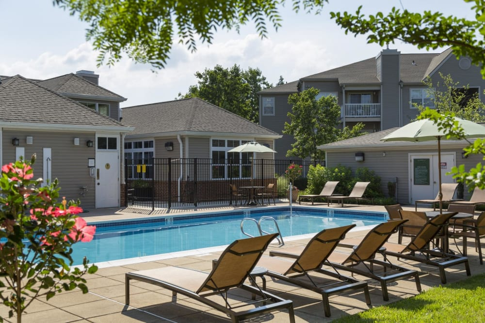 Pool at The Reserve at Ballenger Creek Apartments in Frederick, Maryland