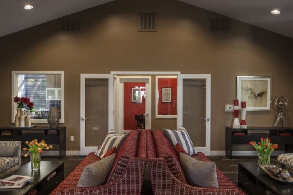 Resident lounge at The Reserve at Ballenger Creek Apartments in Frederick, Maryland