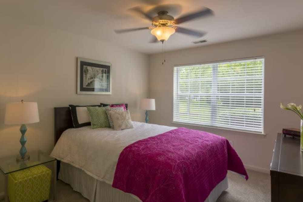 Bedroom model at The Reserve at Ballenger Creek Apartments in Frederick, Maryland