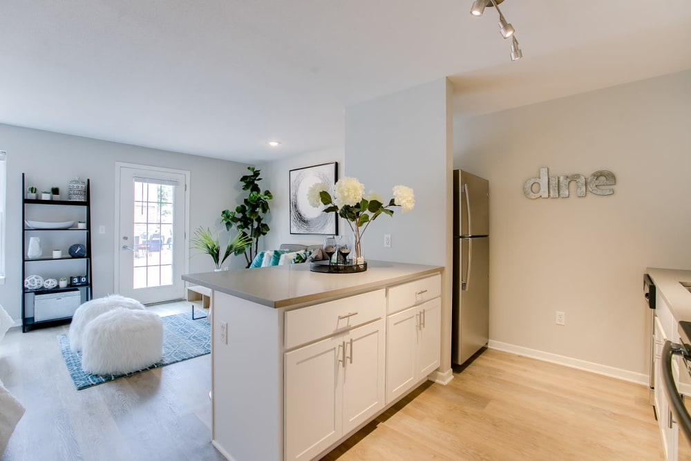 Loring Park Apartments offers a Living Room in Minneapolis, Minnesota