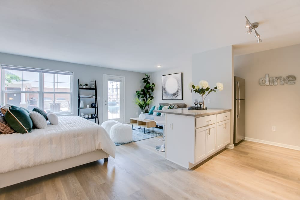 Our Apartments in Minneapolis, Minnesota offer a Bedroom