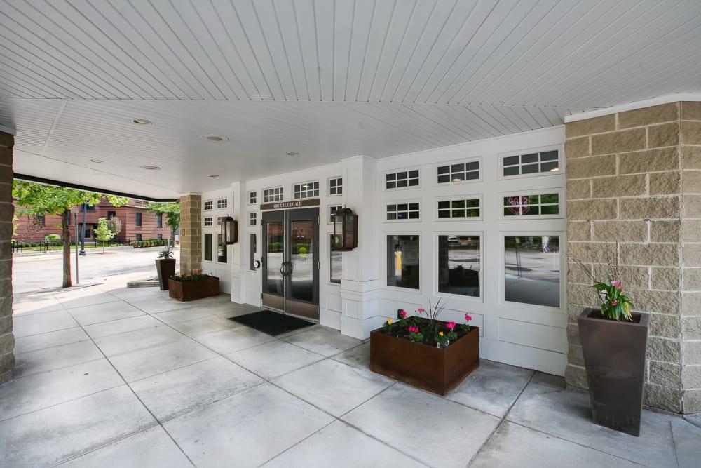 Enjoy a Luxury Entryway at Loring Park Apartments