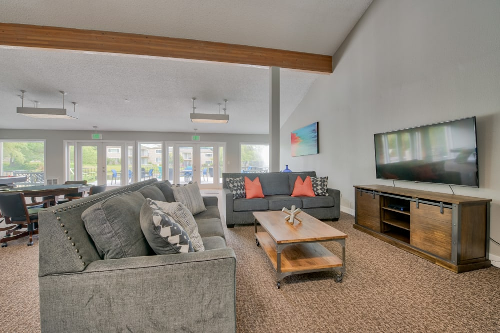Clubhouse at Lakeside Landing Apartments in Tacoma, Washington