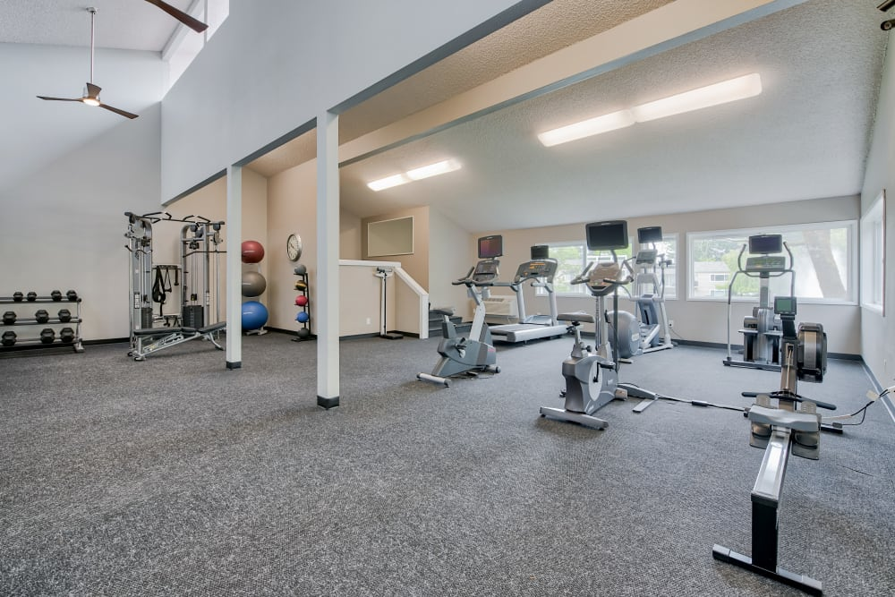 Our Apartments in Tacoma, Washington offer a Gym