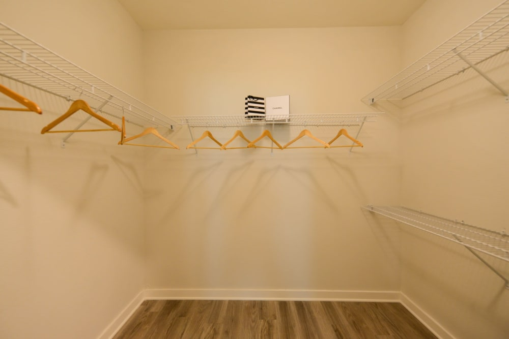 Walk-in Closets at Apartments in Jacksonville, Florida