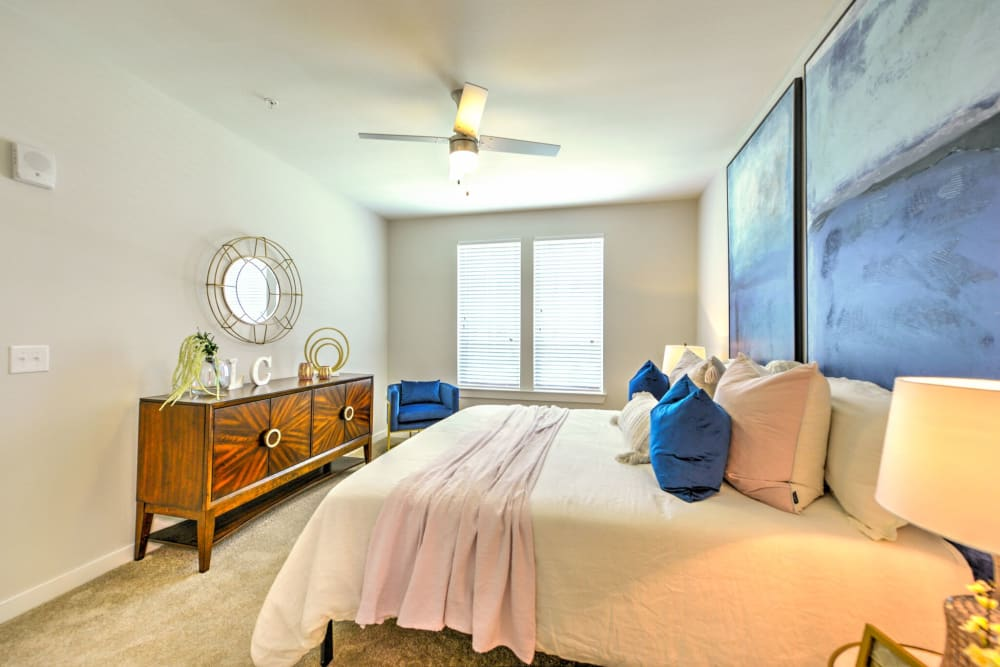 Bedroom at Apartments in Jacksonville, Florida