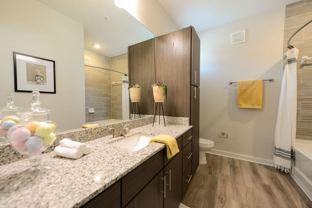 Our Apartments in Jacksonville, Florida offer a Bathroom