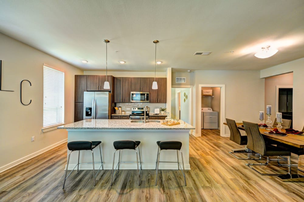 Our Apartments in Jacksonville, Florida offer a Kitchen