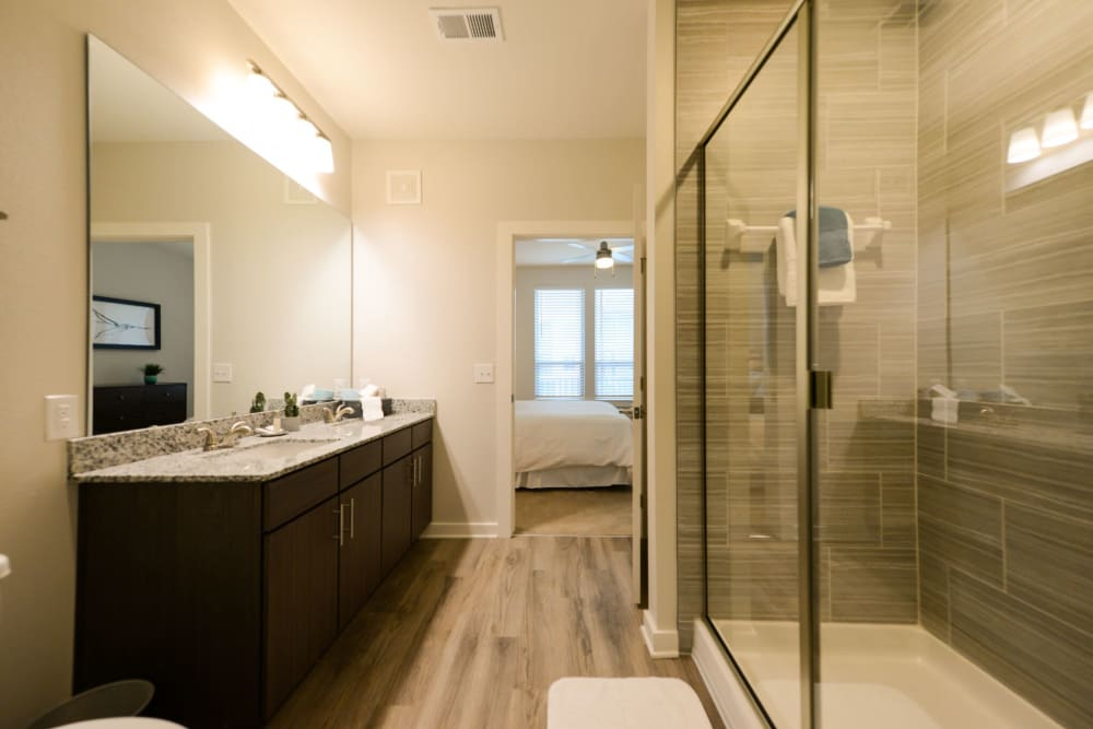 Bathroom at Apartments in Jacksonville, Florida
