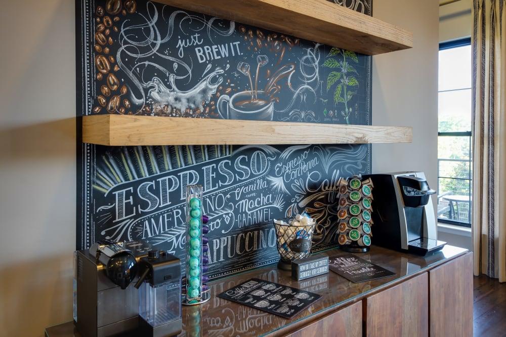 Coffee Bar at McBee Station in Greenville, South Carolina