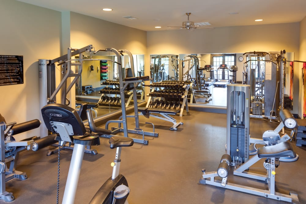Fitness Center at McBee Station in Greenville, South Carolina