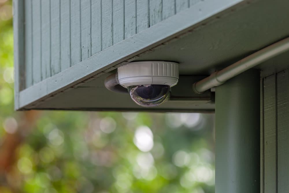 Security monitoring at Bainbridge North Storage in Bainbridge Island, Washington.