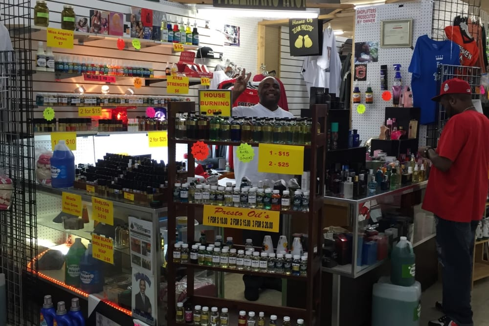 Lots to shop for at Grand Slam Market Place in St. Louis, Missouri