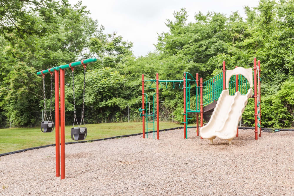 Outdoor playground at The Village at Crestview in Madison, Tennessee
