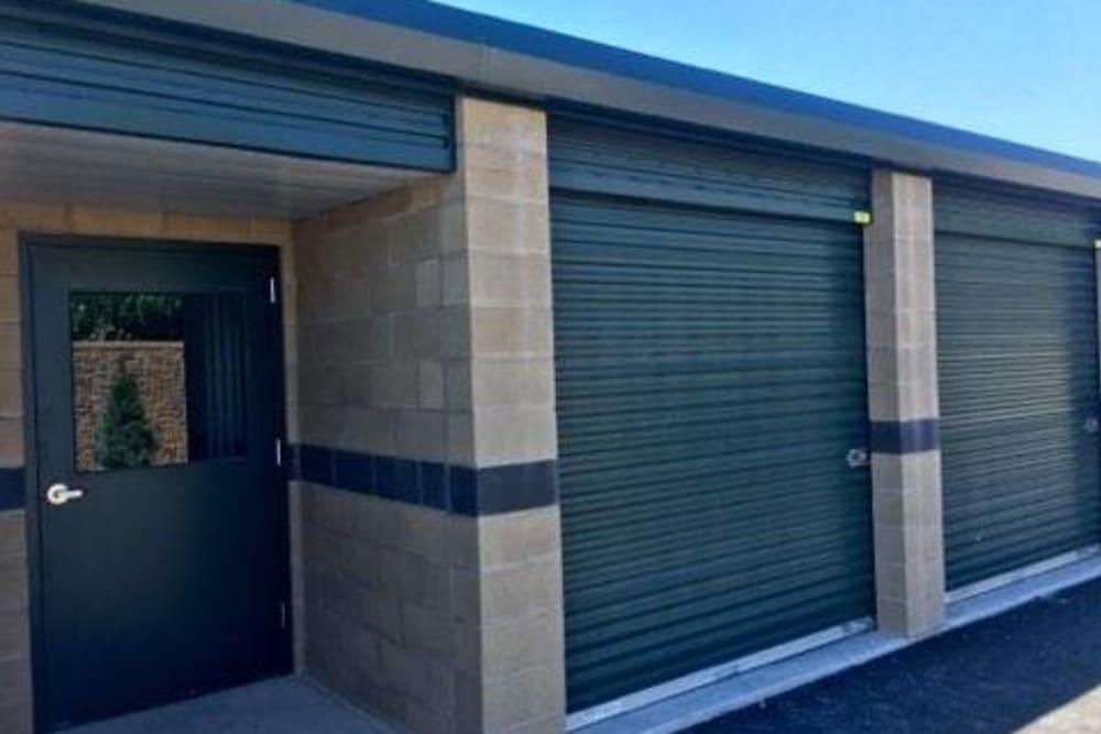 Exterior units at Towne Storage in Riverton, Utah