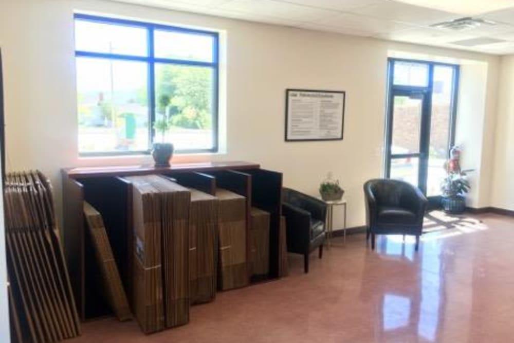 Leasing office at Towne Storage in Riverton, Utah