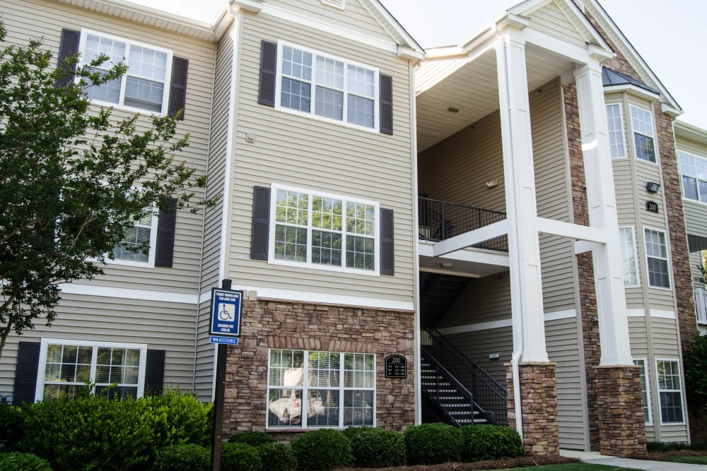 Entrance to a Lullwater at Saluda Pointe apartment at Lullwater at Saluda Pointe in Lexington, South Carolina