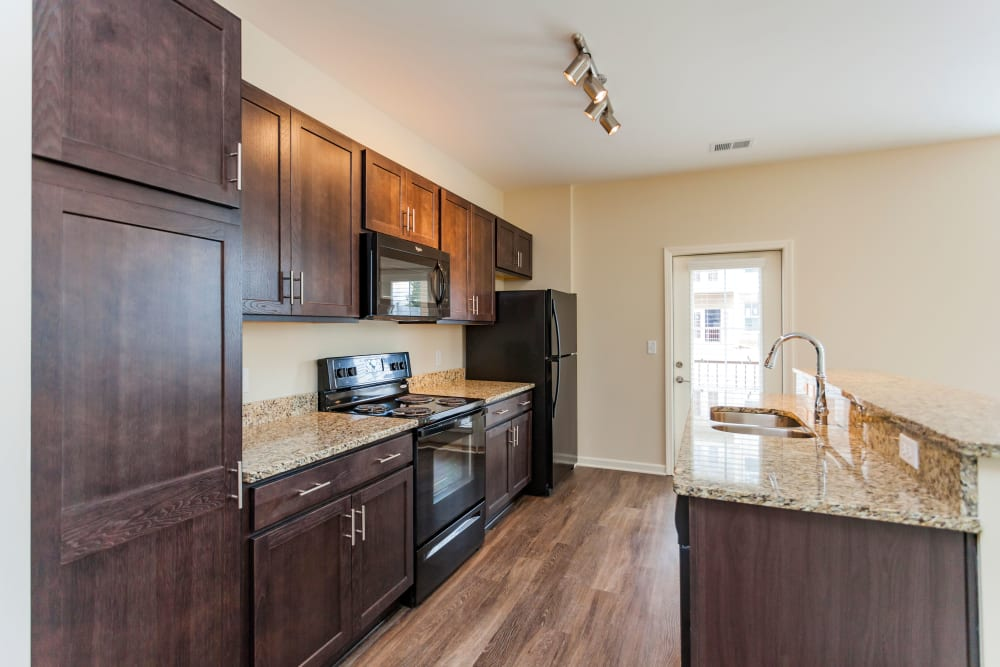 Model Kitchen at Madison Crest in Madison, Tennessee
