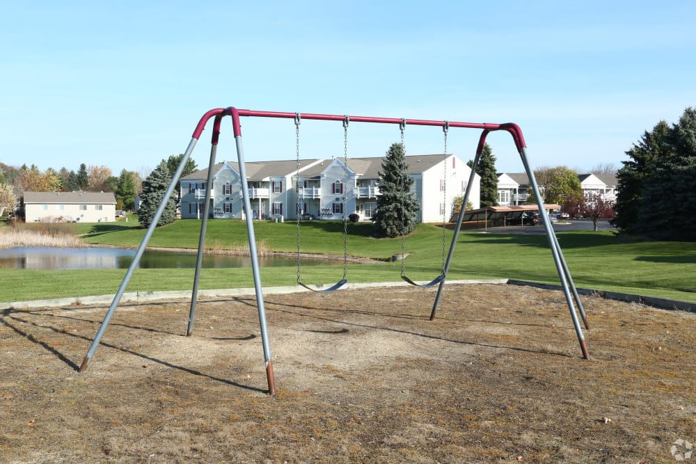 Resident playground at Country Place in Mount Pleasant, Michigan.