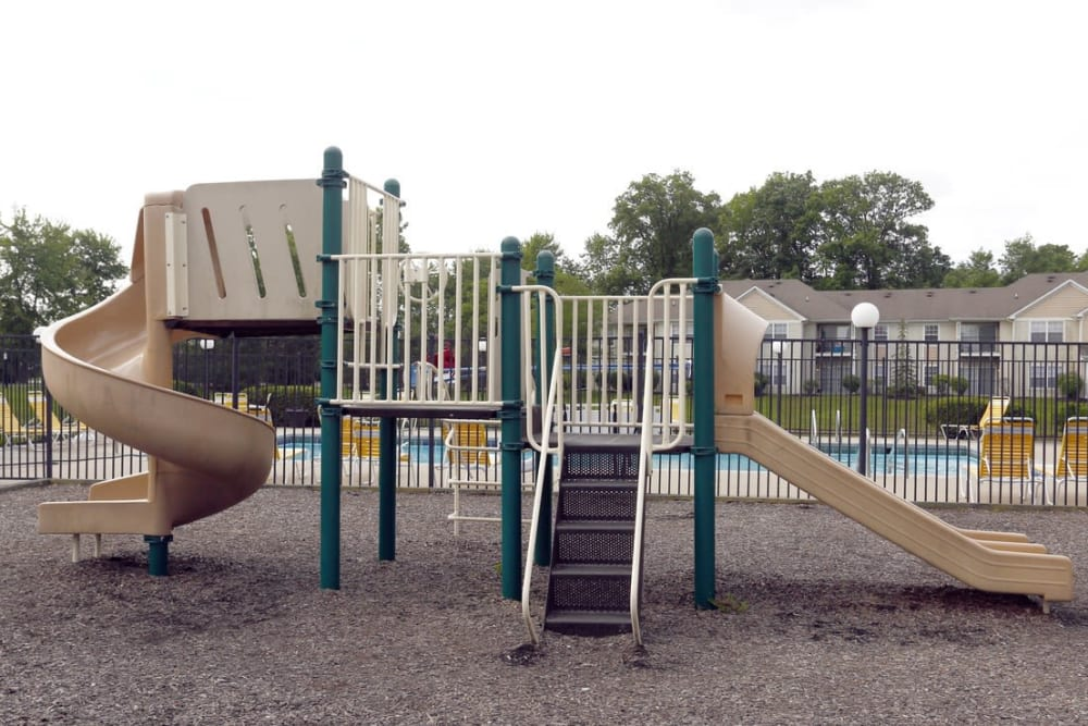 Playground at Pheasant Run in Indianapolis, Indiana.
