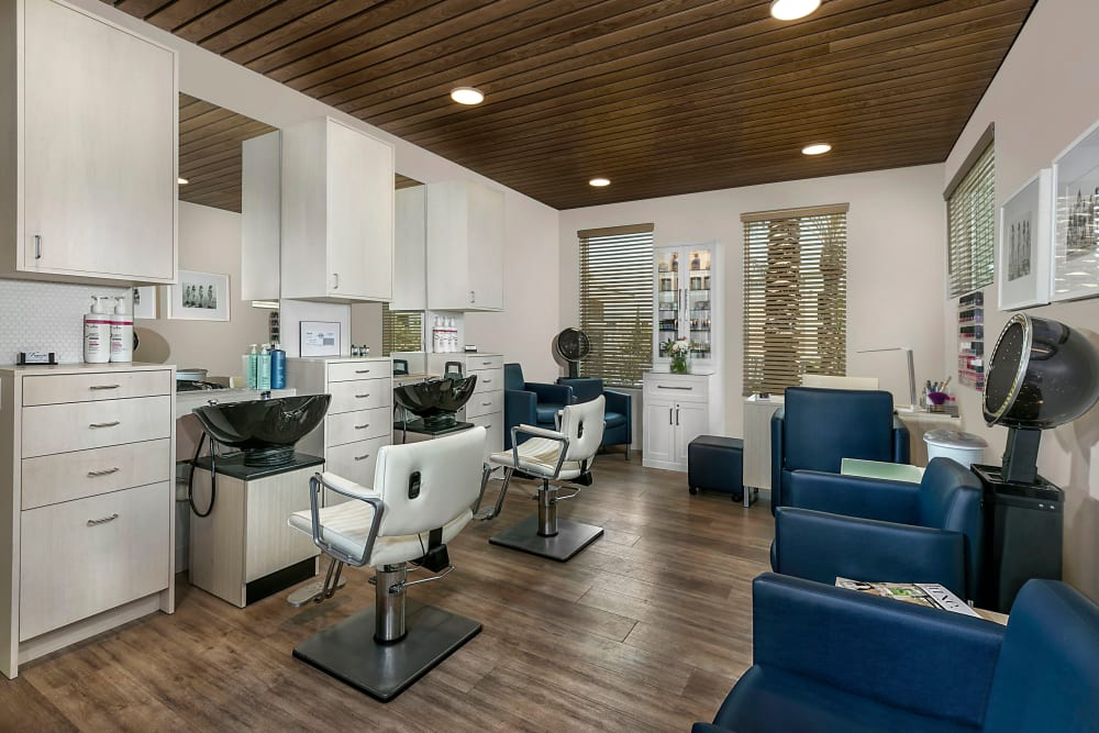 Salon at Clearwater at Rancharrah in Reno, Nevada.