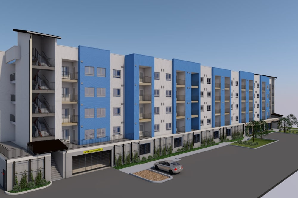 Rendering of future homes at LARC at Burien in Burien, Washington