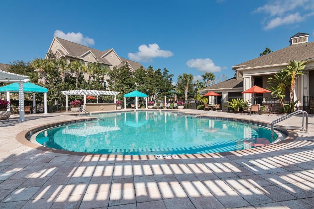 Soaker pool at Landings at Four Corners in Davenport, Florida
