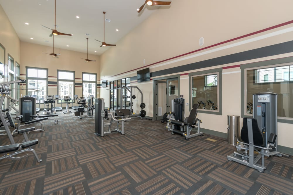 Fitness Center at Silver Companies
