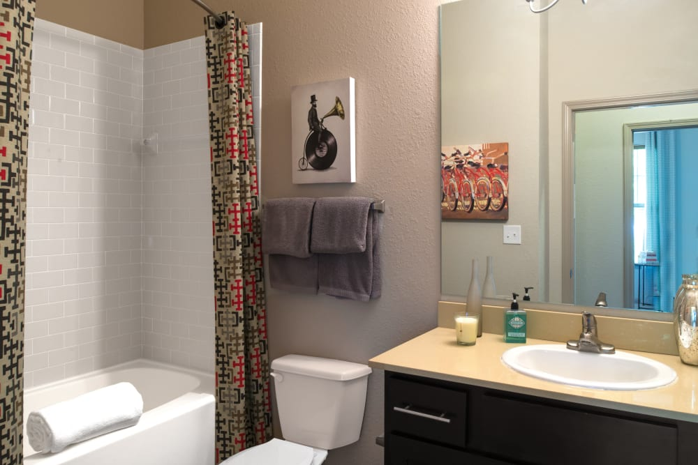Bathroom at Silver Companies